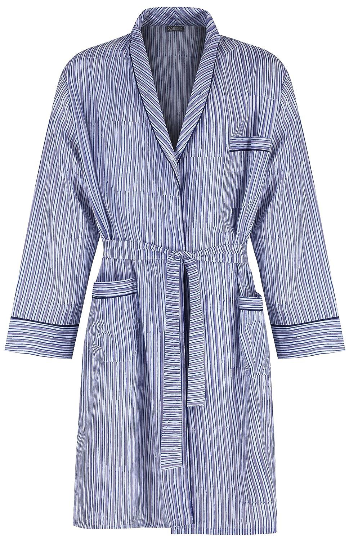 Men\'s Cotton Dressing Gown Robe / Lightweight 100% cotton. Hand ...