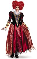 Disney Women's Alice Red Queen Prestige Costume