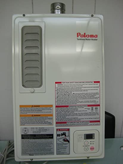 paloma tankless water heater. Paloma / Home Depot Tankless Natural Gas Water Heater-Indoor For One Bath- Renovations Heater E