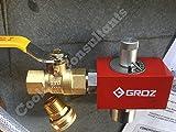 Groz Plus Drum Mixer Proportioner, Venturi Style