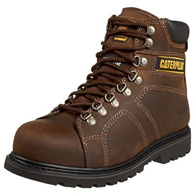 """Caterpillar Men's Silverton 6"""" Steel Lace-To-Toe Work Boot 
