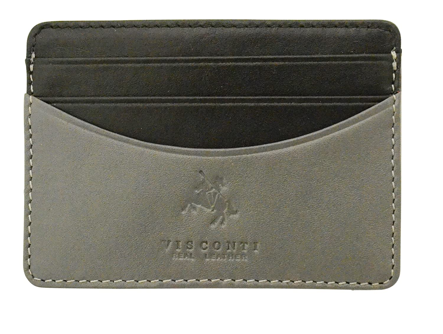 Visconti Lucca Collection LC35 Two Tone Slim Leather ID & Credit Card Holder