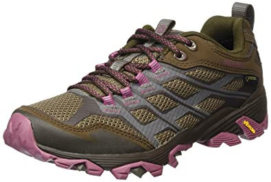 Merrell MOAB FST GTX / GRANITE Gris - Livraison Gratuite avec  - Chaussures Chaussures-de-randonnee Femme