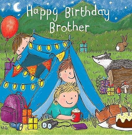 Twizler Tarjeta de felicitación de cumpleaños para niño con ...
