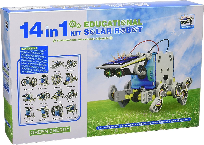 Juguete educativo construye un robot