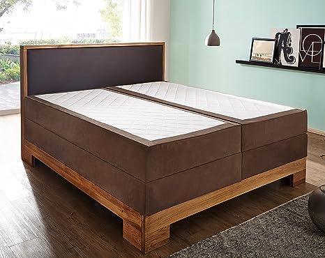 Base Letto Legno : Sam® letto boxspring sirin box con cornice in legno e base a molle