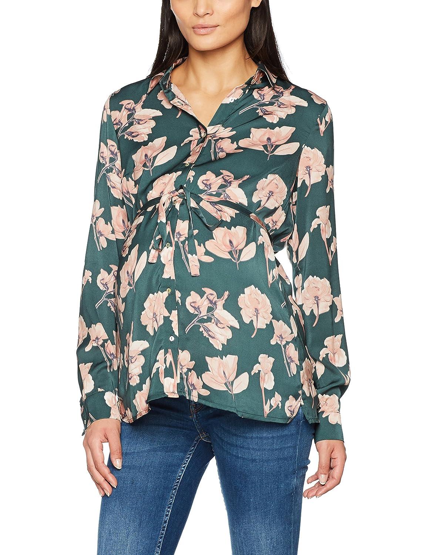 MAMALICIOUS Damen Mlflowa L//S Woven Shirt Umstandsbluse