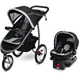 Graco FastAction Fold Jogger Travel System | Includes the FastAction Fold Jogging Stroller and SnugRide 35 Infant Car…
