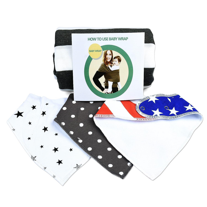 Amazon Com Lakshyaa Baby Wrap Carrier Bundle With Three Premium