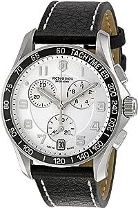 Victorinox Swiss Army Men's 241496 White Dial Chronograph Watch