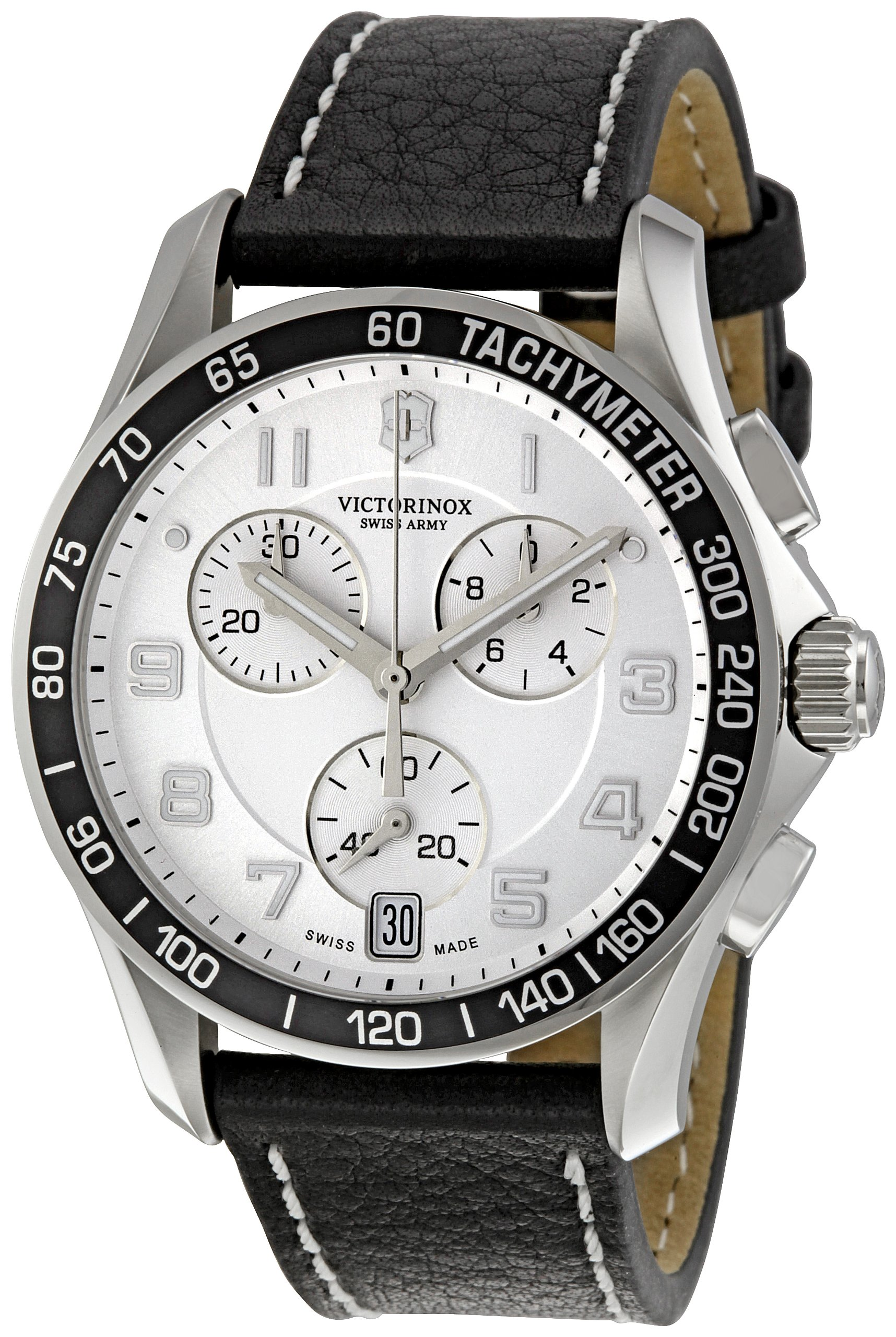 Victorinox Swiss Army Men's 241496 White Dial Chronograph Watch