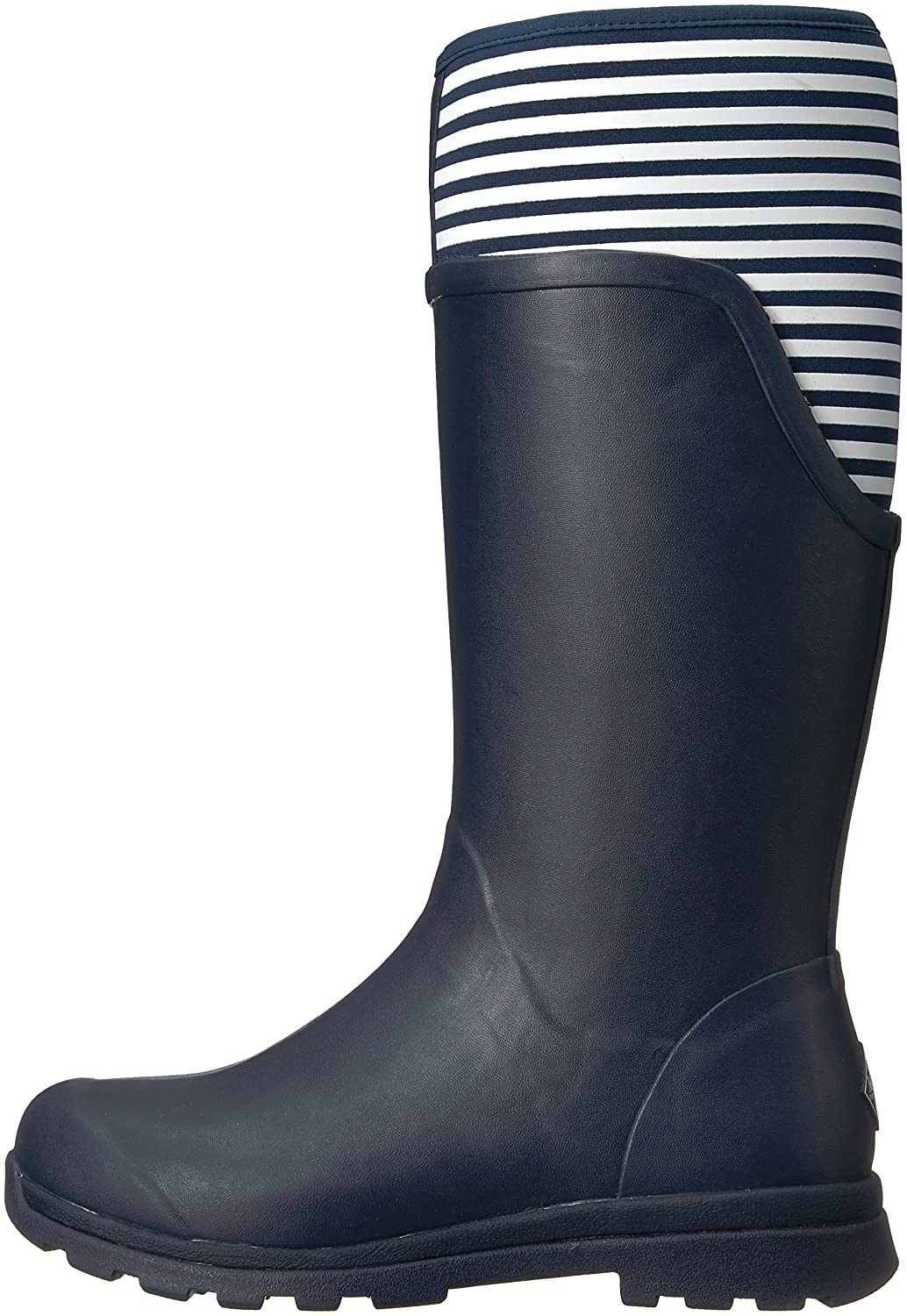 Muck Boot US|Navy Women's Cambridge Tall Snow B01N5PLWZM 10 B(M) US|Navy Boot With White Stripe d8a99d