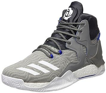online retailer 4dfc0 fae46 Adidas D Rose 7 – Chaussures de Basketball pour Homme, Gris – (grpuch