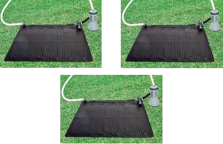 Oferta panel solar de 3 paneles temperatura piscina Intex 28685 ...