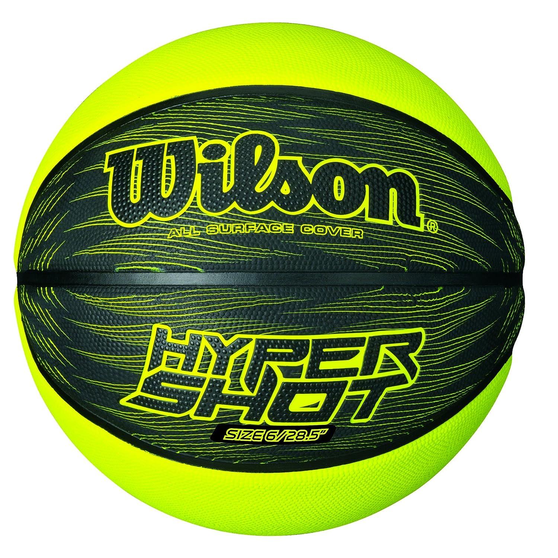 Wilson Outdoor-Basketball, Rauer Untergrund, Asphalt, Granulat, Kunststoffboden, Hyper Shot I WIMX4|#WILSON