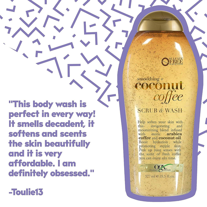 Ogx Coconut Coffee Body Wash - 19.5oz, 19.5 Oz : Beauty