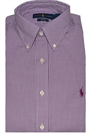 Ralph Men's Easy Stretch Care Sleeve Slim Polo Long Lauren Fit odrxWCBe