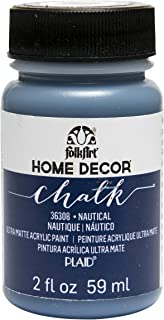 product image for FolkArt 36308 Home Decor Chalk Furniture & Craft Paint in Assorted Colors, 2 ounce, Nautical
