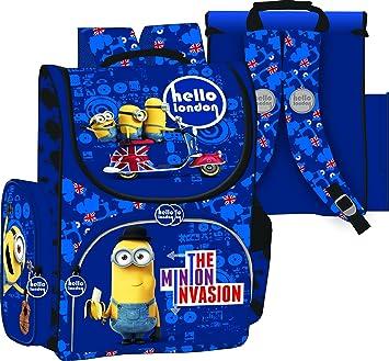 16 - Mochila escolar mochila, diseño de minion - Mochila escolar: Amazon.es: Oficina y papelería
