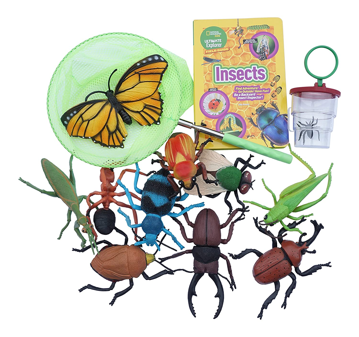 amazon com kids bug and insect exploration kit 10 plastic