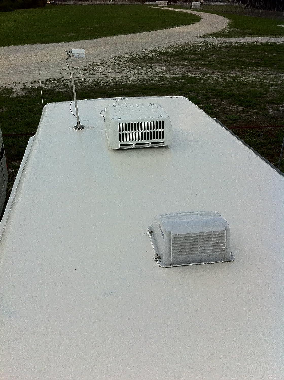 Liquid Roof RV Roof Coating U0026 Repair 5 Gallon Pail White   Roofing  Materials   Amazon.com