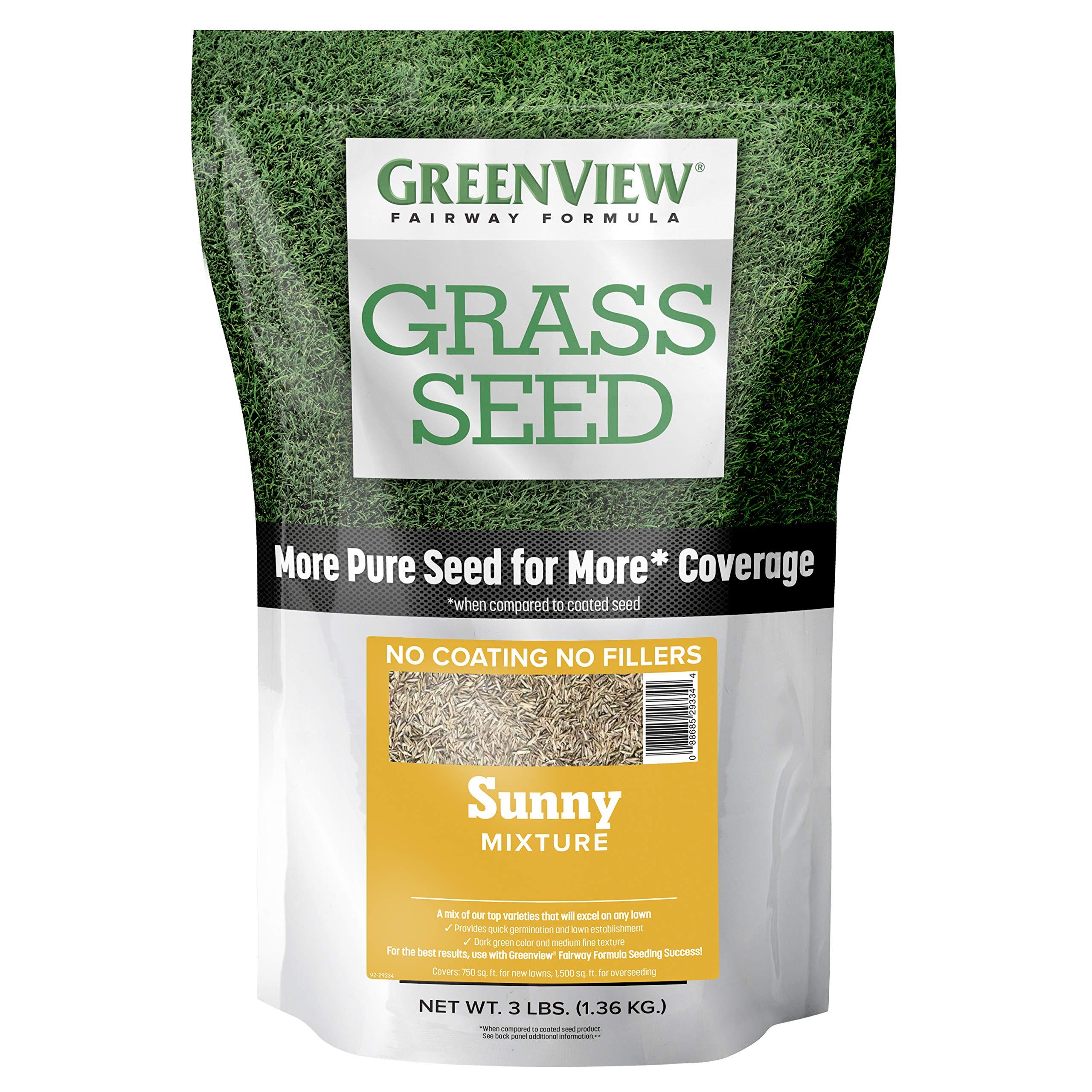 GreenView 2829339 Fairway Formula Grass Seed Sunny Mixture - 3 lb.