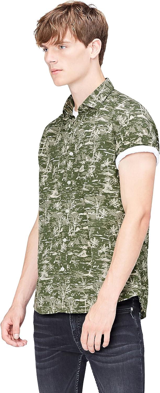 Marca Amazon - find. Camisa Hombre