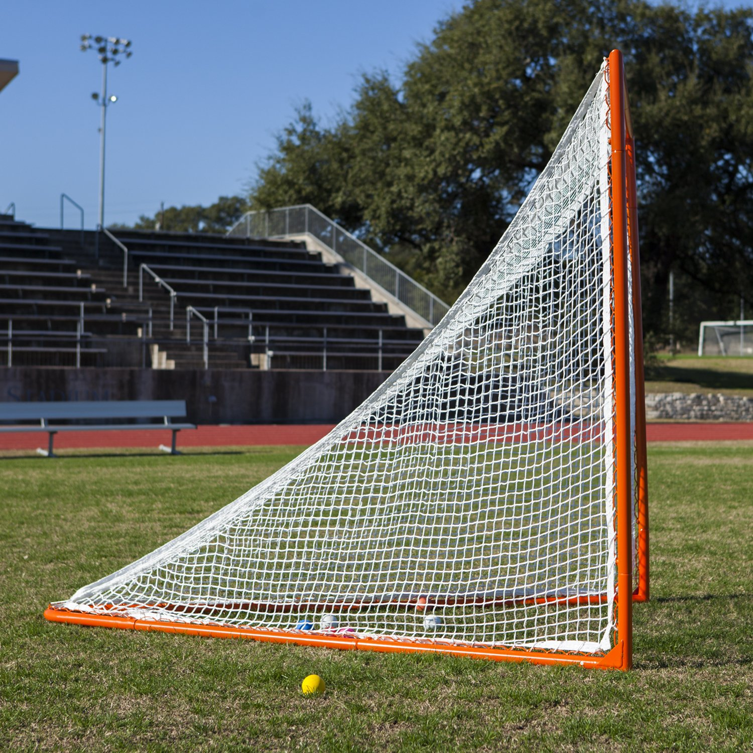 amazon com champion sports professional lacrosse goals 6x6 feet