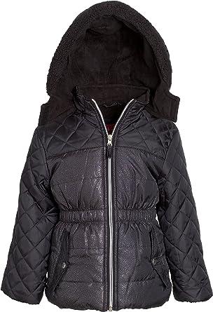 Amazon.com: Pink Platinum Girls Down Alternative Hooded Winter Bubble  Puffer Jacket Coat: Clothing