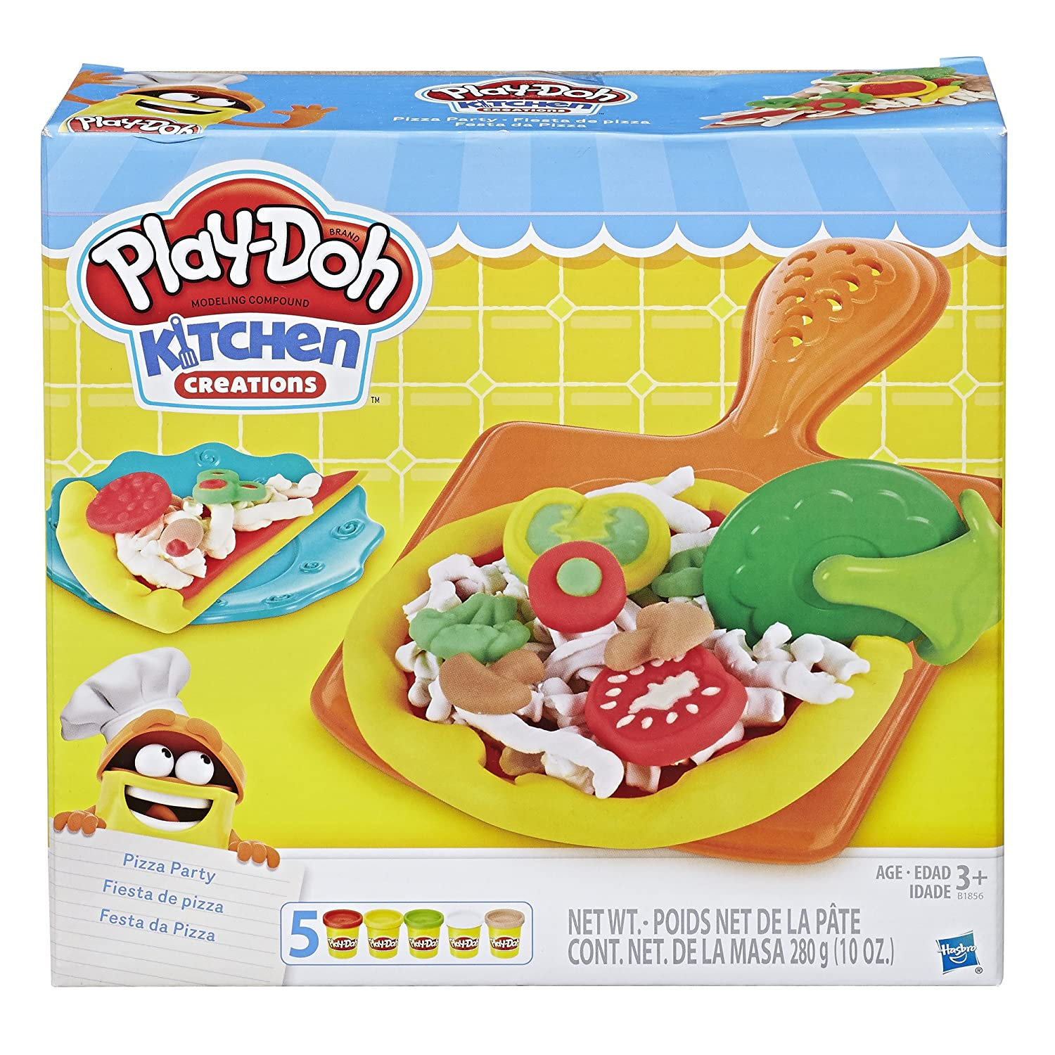 Amazon.com: Play-Doh Kitchen Creations Pizza Party: Toys & Games