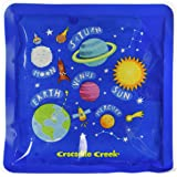 """Crocodile Creek Kids Eco Reusable Solar System Ice Packs for Lunch Boxes (Set of 2), Blue, 5"""""""