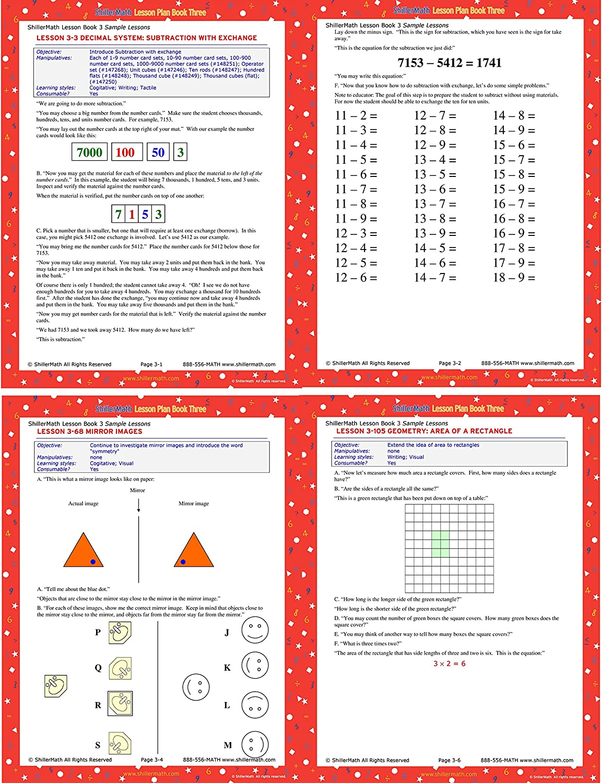 ShillerMath Kit I Basic - Homeschool Montessori Curriculum - (Pre-K to 3rd  Grade)