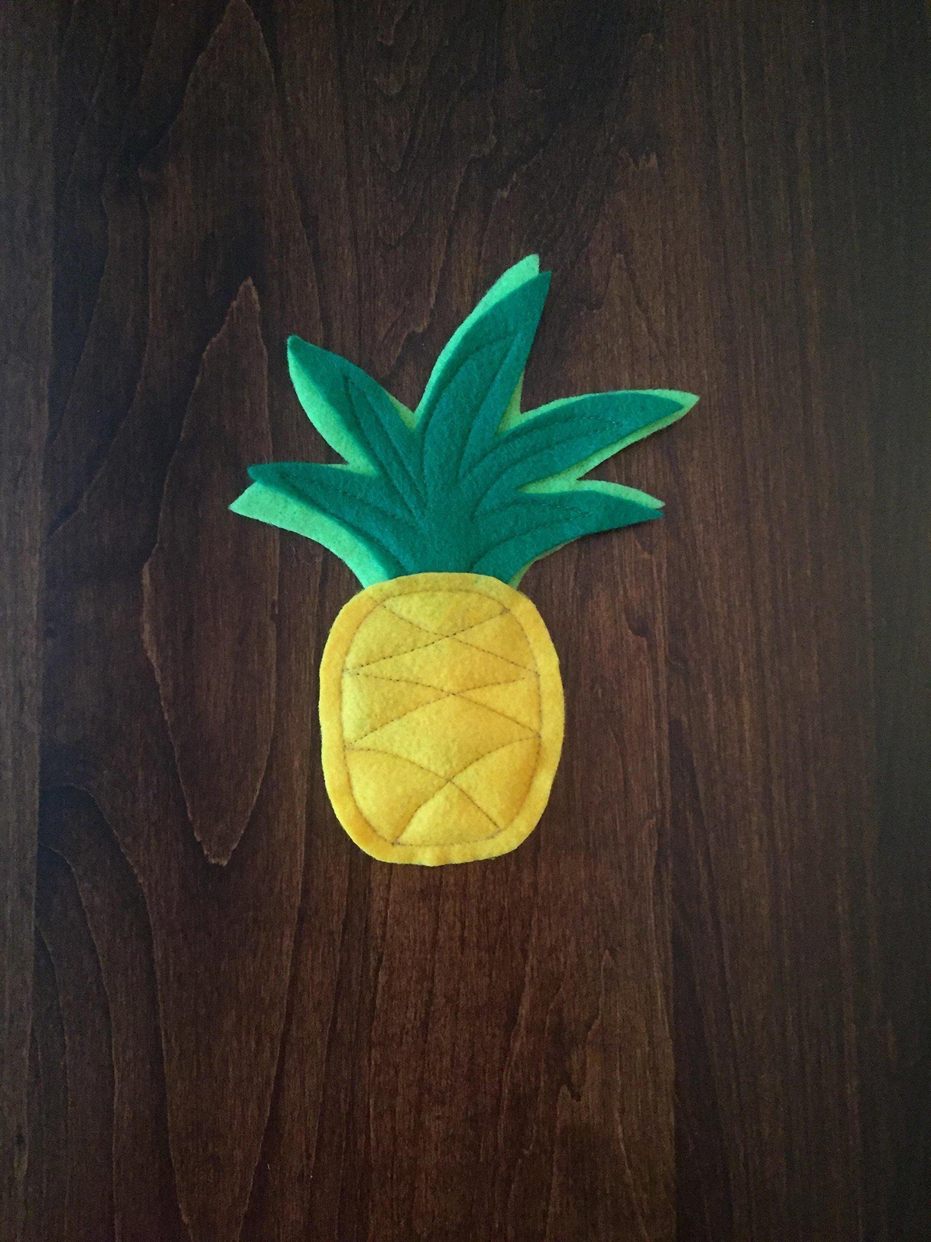 Pineapple Organic Catnip Cat Toy