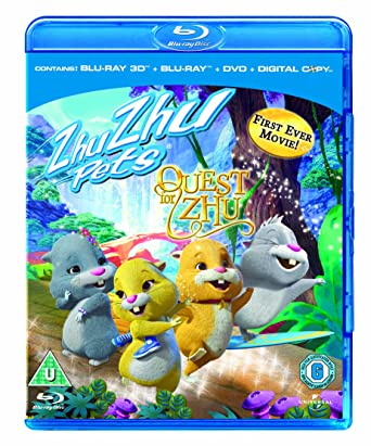 Amazon Com Zhu Zhu Pets Quest For Zhu Blu Ray 3d Blu Ray Dvd Digital Copy Movies Tv