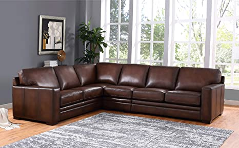 Swell Hydeline Dillon 100 Leather Sofa Set Sectional Brown Caraccident5 Cool Chair Designs And Ideas Caraccident5Info