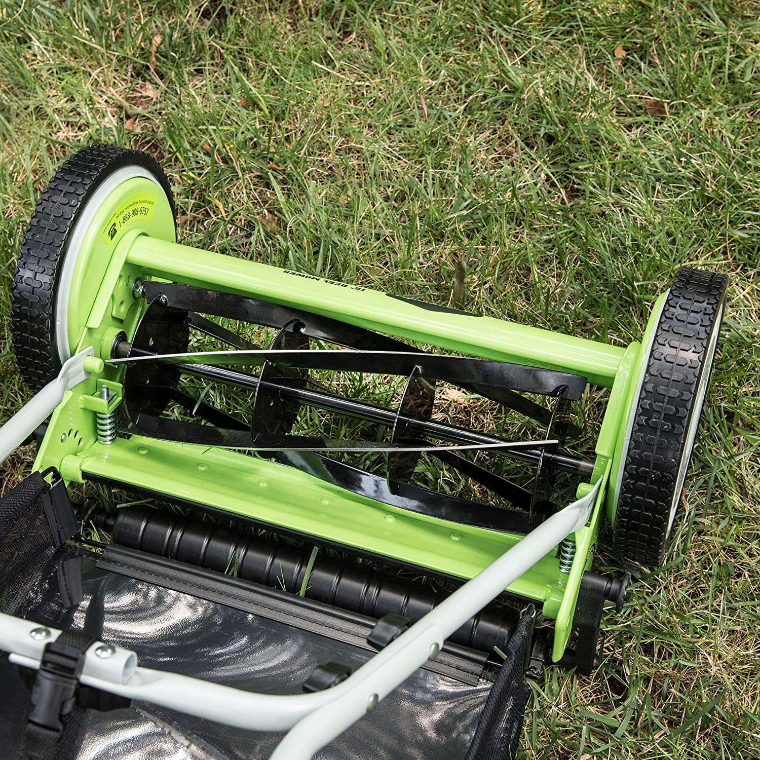 Greenworks 25072 Push Reel Lawn Mower review