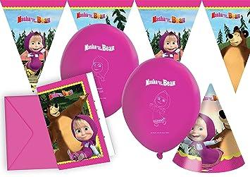 Ciao Y2511 - Kit de accesorios para fiesta Masha y el oso ...