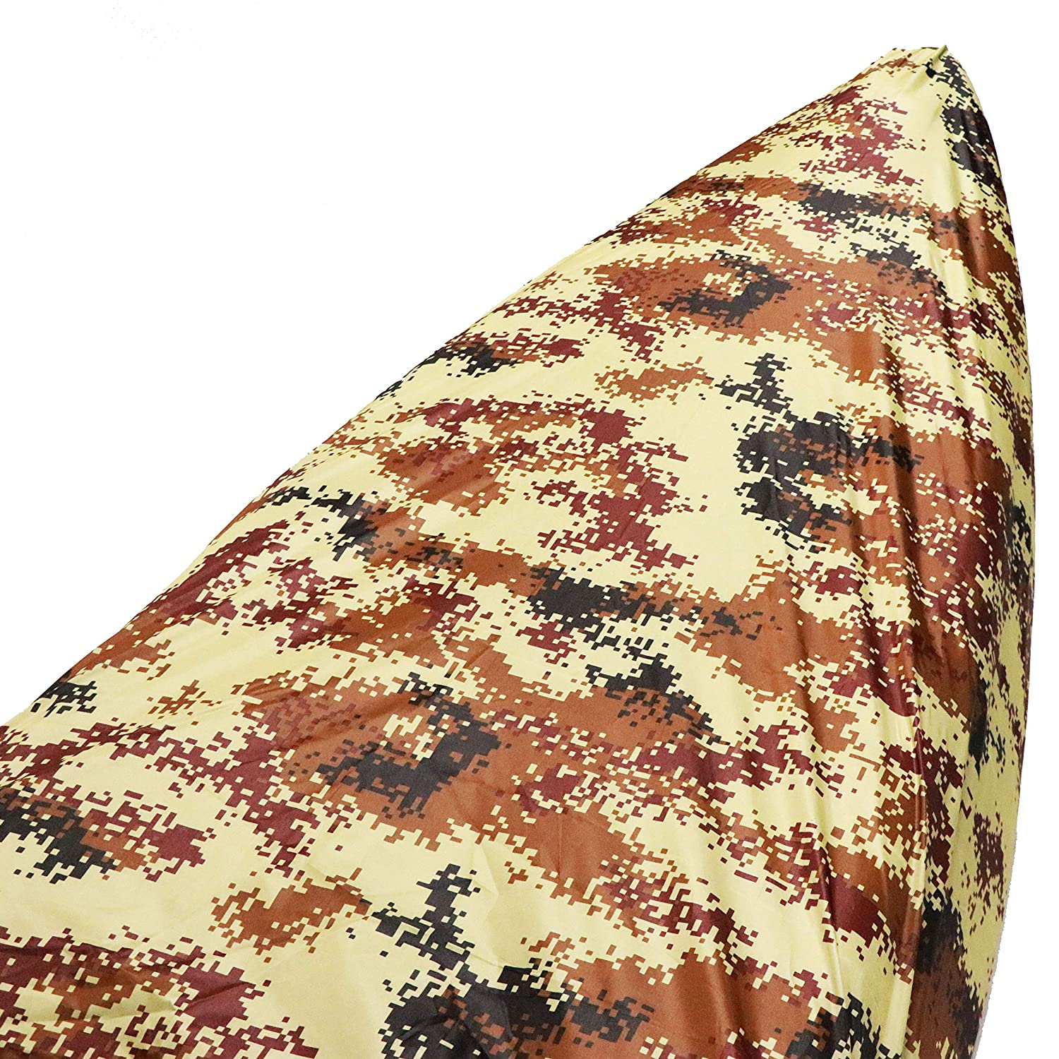 HUIBELL Camo Colors 210D Oxford Durable Kayak Canoe Storage Cockpit Dust Cover 9.8ft-21.3ft Range 8 Sizes Waterproof /& UV Protector