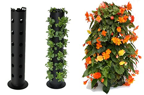 flower tower freestanding planter 3 feet - Tower Garden