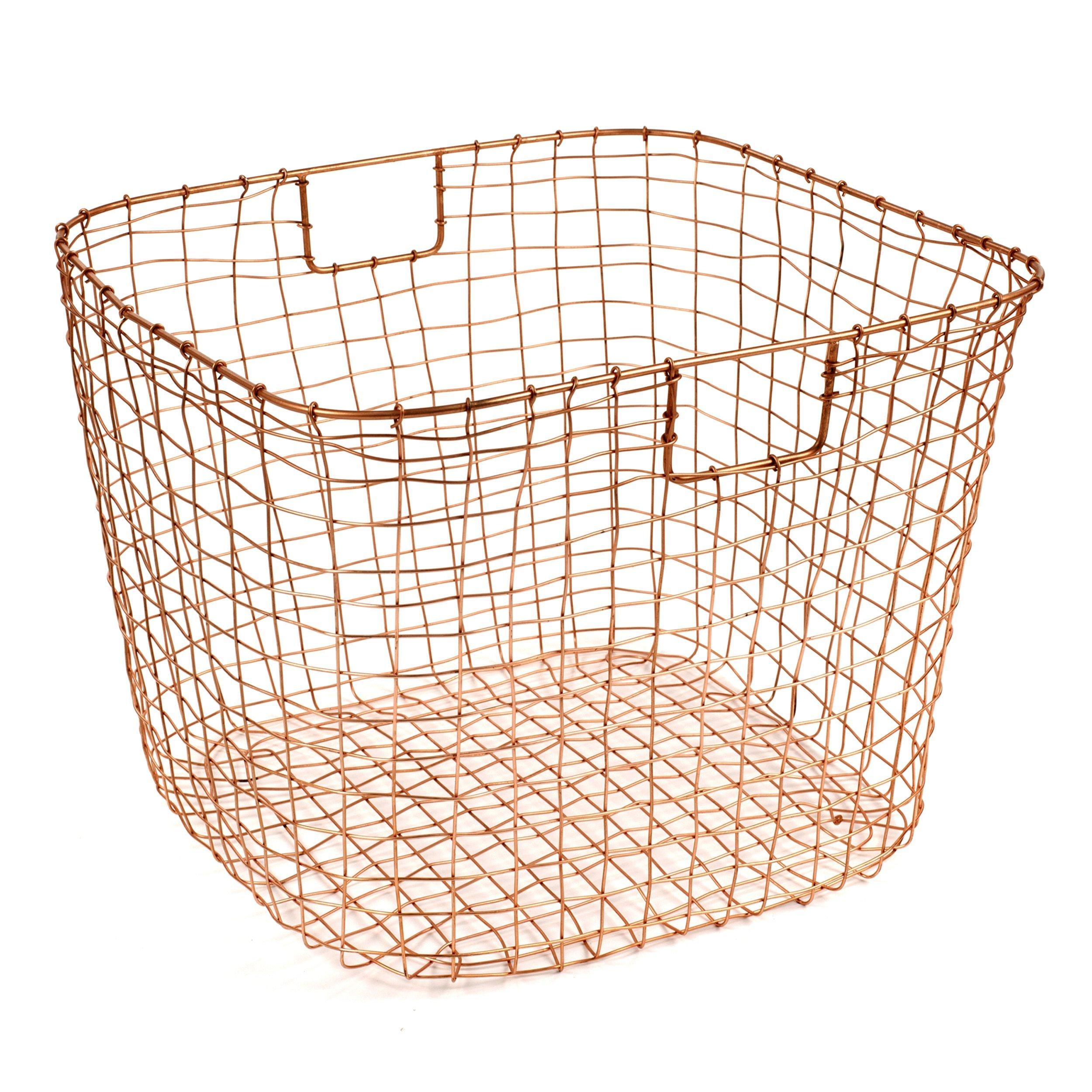Design Ideas 8758976-DI Cabo Harvest Basket-Copper,