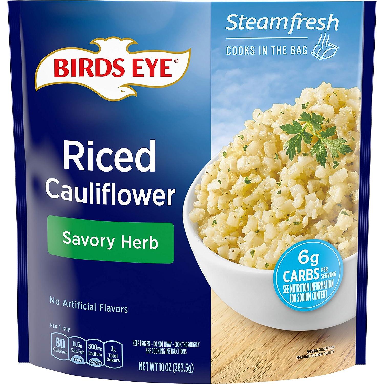 Birds Eye Savory Herb Riced Cauliflower, 10 OZ