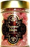 Universal Studios Wizarding World of Harry Potter Park Honeydukes Emporium Pepper Imps Cinnamon Flavoured Candies 7 Oz Candy Collectible Glass Jar