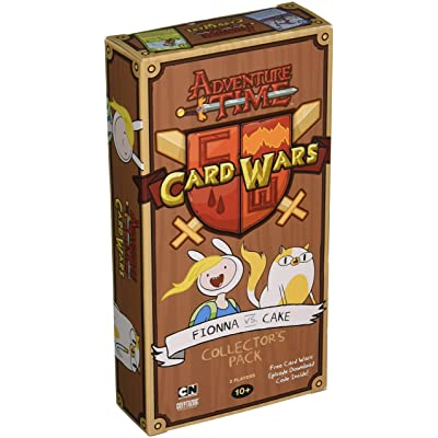 Cryptozoic Entertainment Adventure Time Card Wars Fionna vs Cake Game: Toys & Games