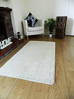 Marvelous NEW SOFT PLAIN SHAGGY MATS MACHINE WASHABLE NON SLIP LARGE SMALL BEDROOM  RUGS (50 X