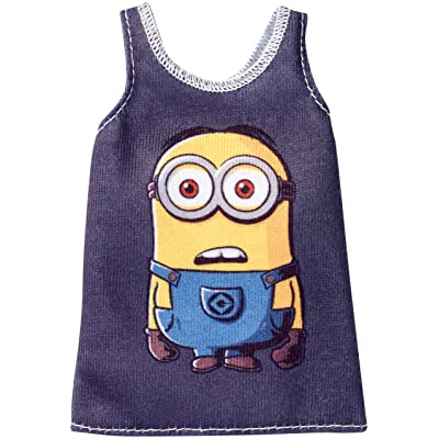 Barbie Despicable Me Fashion Black Tank Top Fashion Pack: Toys & Games