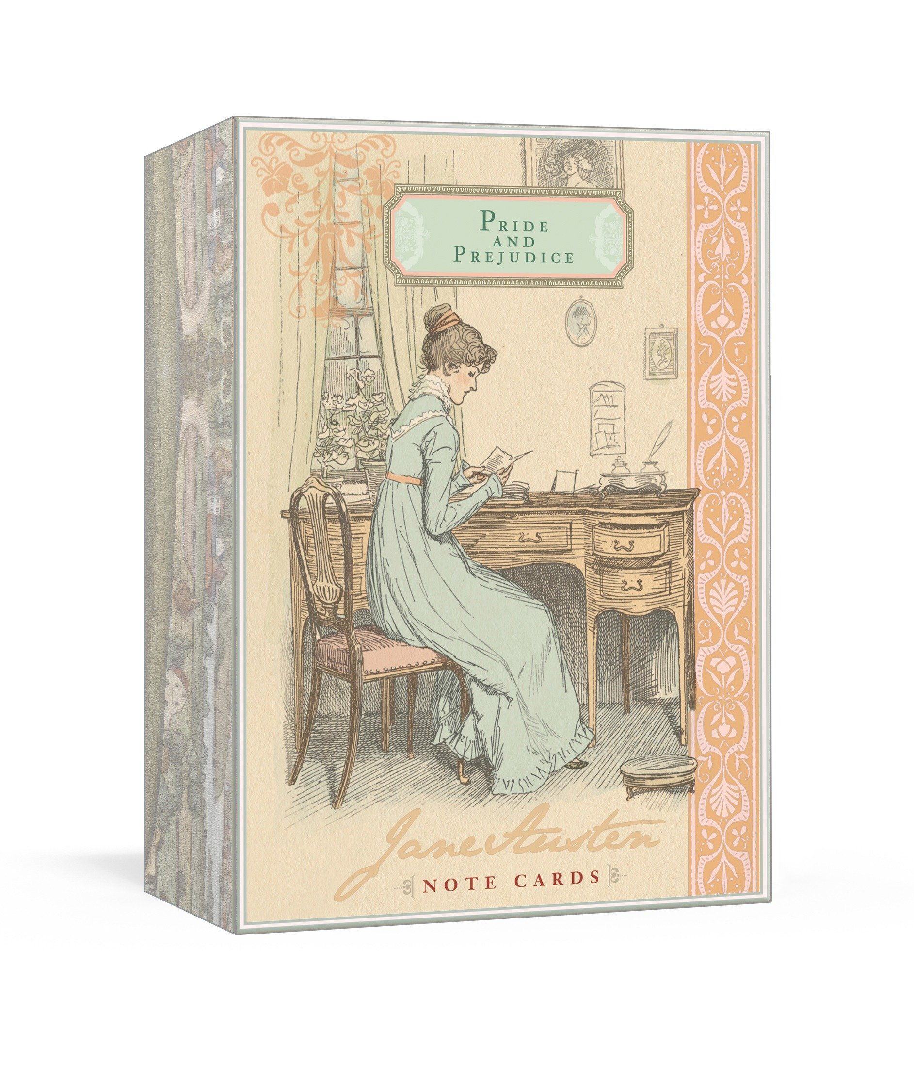 Jane Austen Note Cards - Pride and Prejudice by Potter Style