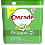 Cascade ActionPacs Dishwasher Detergent, Fresh Scent, 105 count  (Packaging may vary)