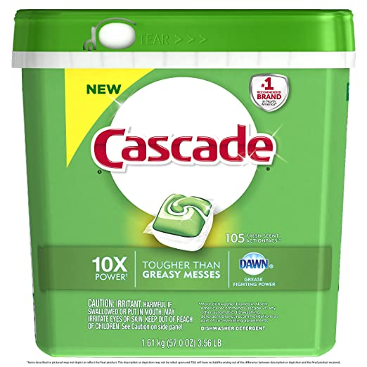 Cascade Action Pacs Dishwasher...