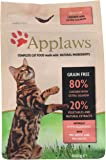 Applaws Dry Cat Food Adult Chicken with Salmon, 400g
