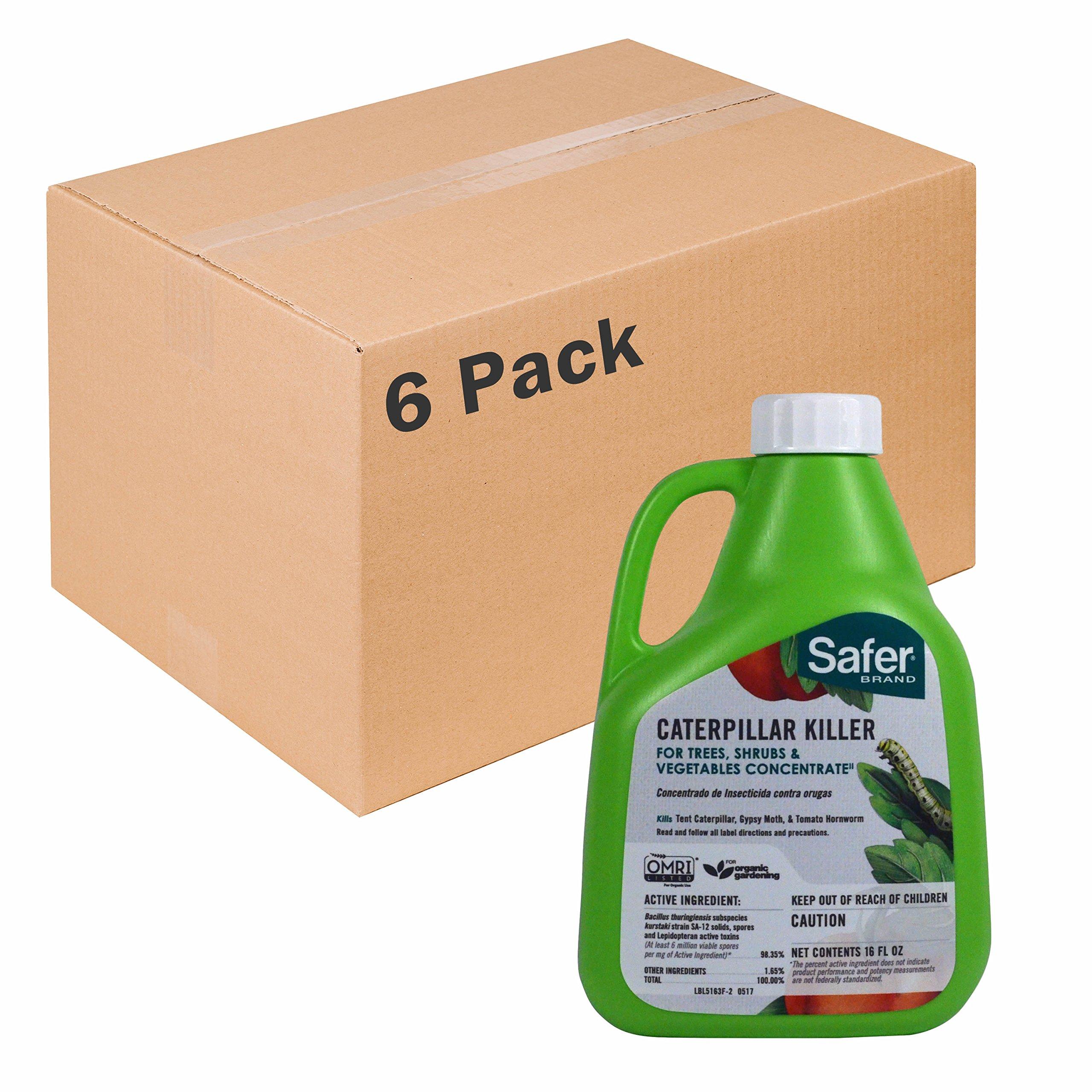 Safer Brand 16oz Caterpillar Killer Concentrate - 6 pack 5163-6